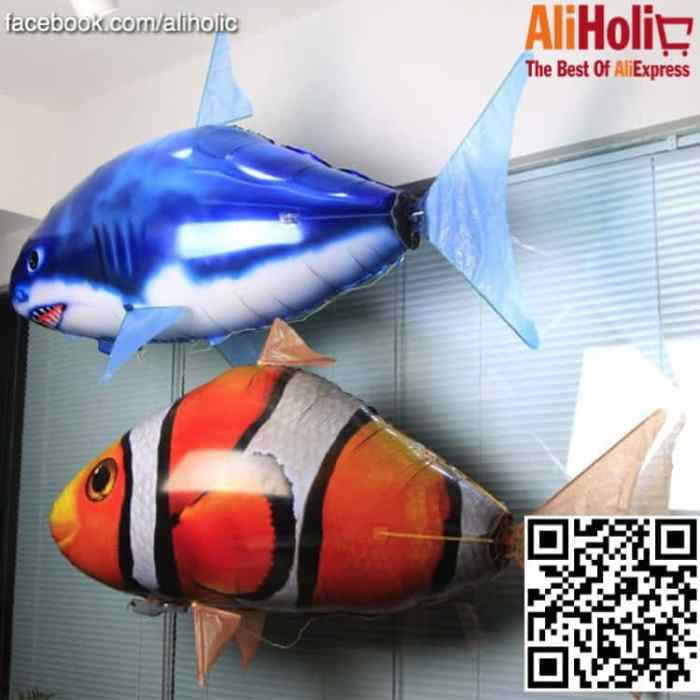 RC flying fish AliExpress 1