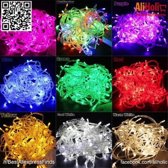 10-meter string lights