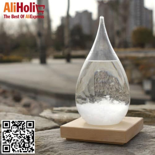 Storm glass weather forecast