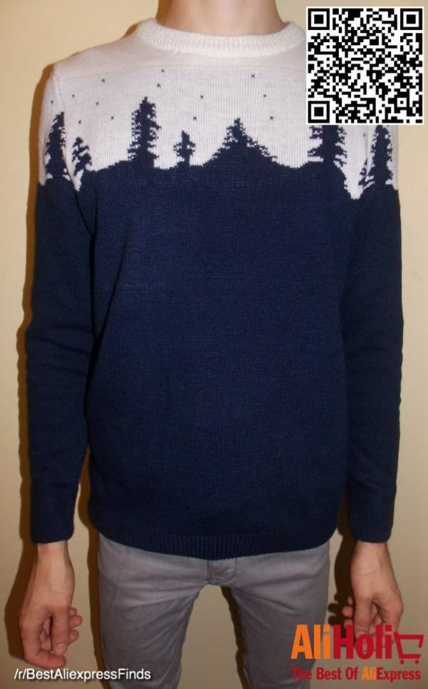Trees sweater 1