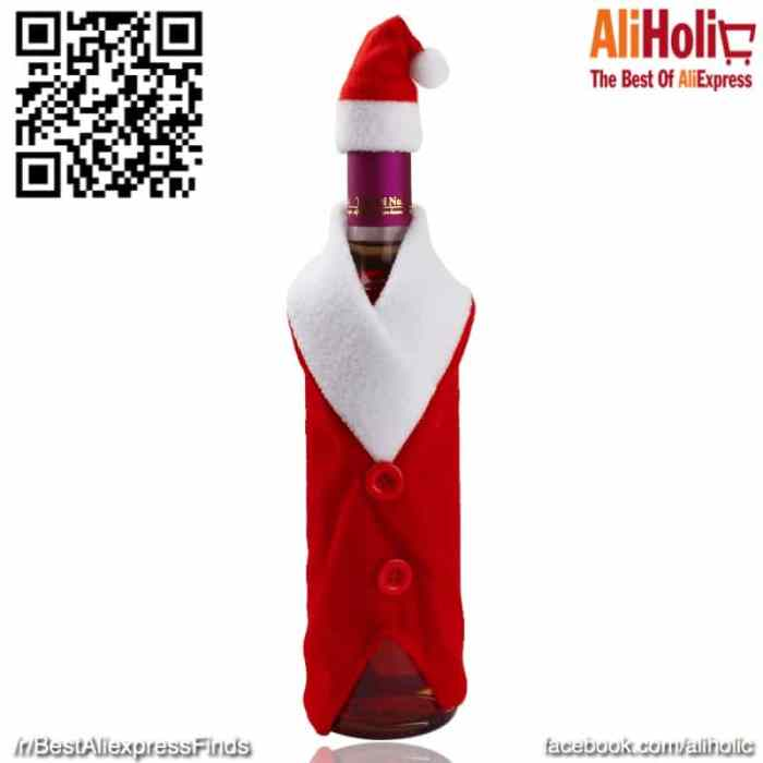 Wine bottle decoration
