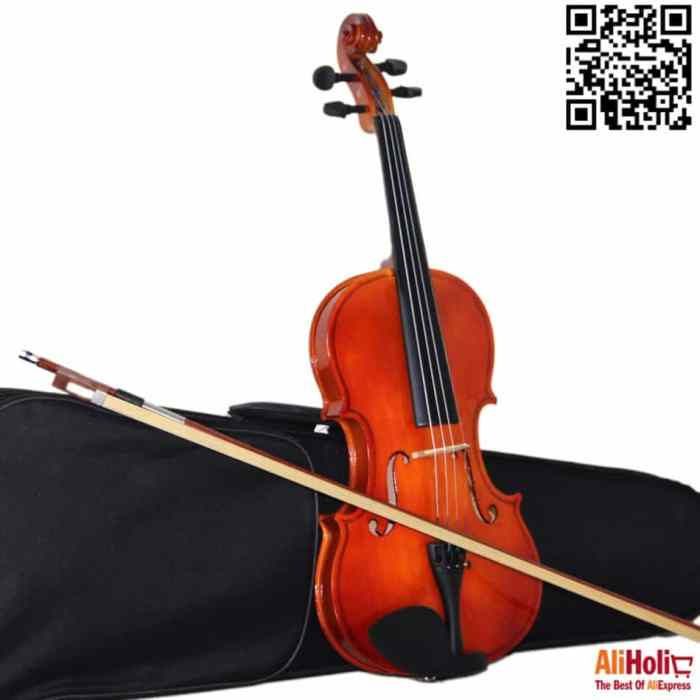 wooden violin AliExpress