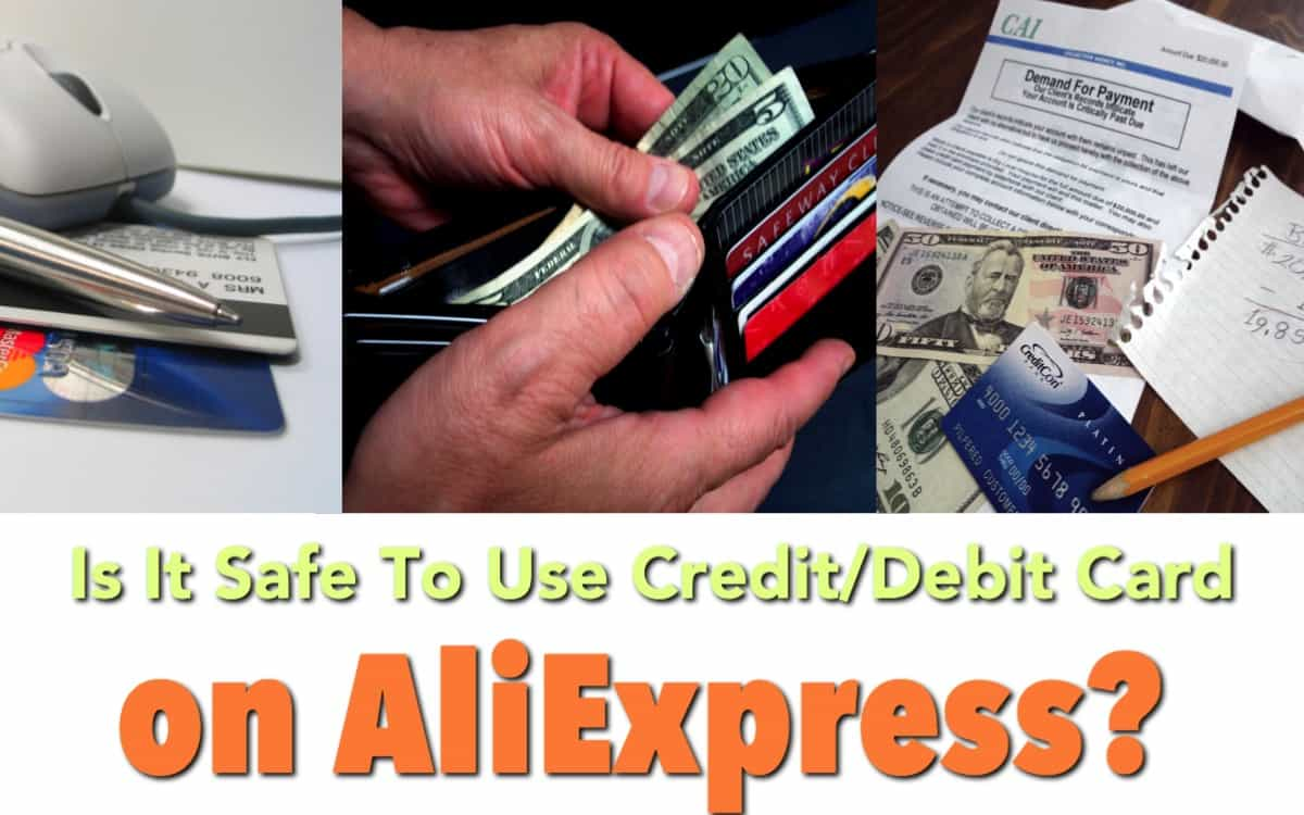 Is it safe to use my credit card on AliExpress?