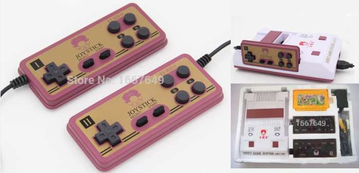 simple video game console