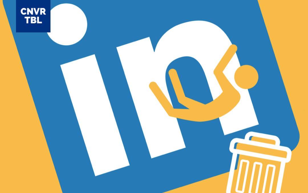 Wie entfernt man einen Kontakt in LinkedIn?