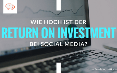 Social Media: Wie hoch ist der Return on Investment?