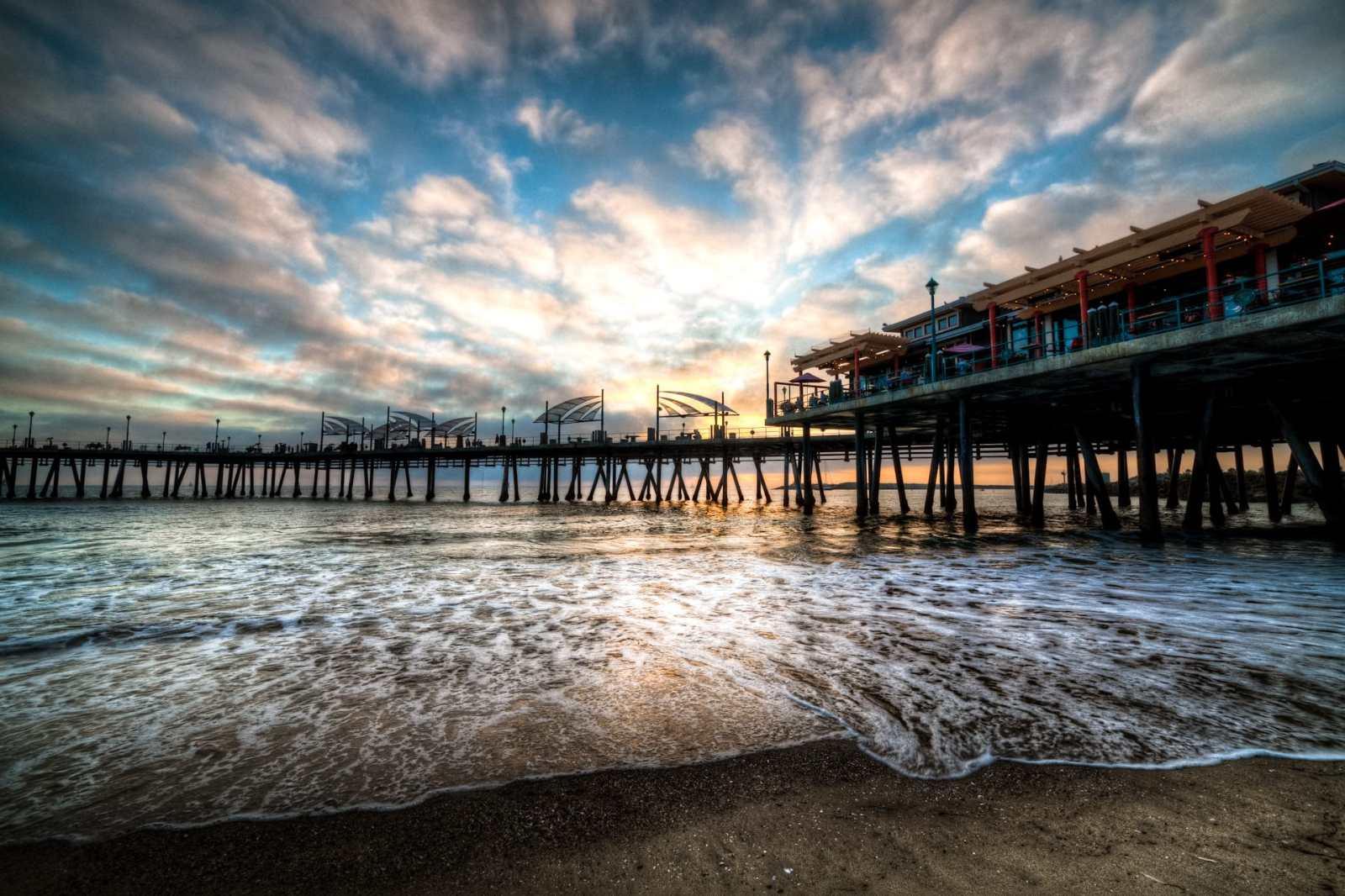 Redondo Beach Pier HDR Photography beach photo