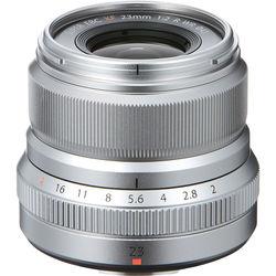 Fujinon 23mm f2 R Silver