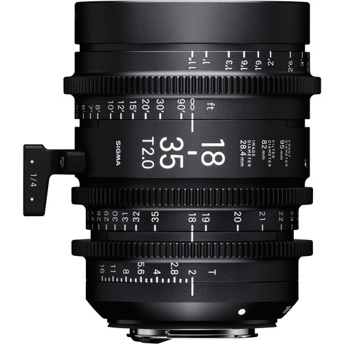 Sigma 18-35mm T2 Cinema Lens