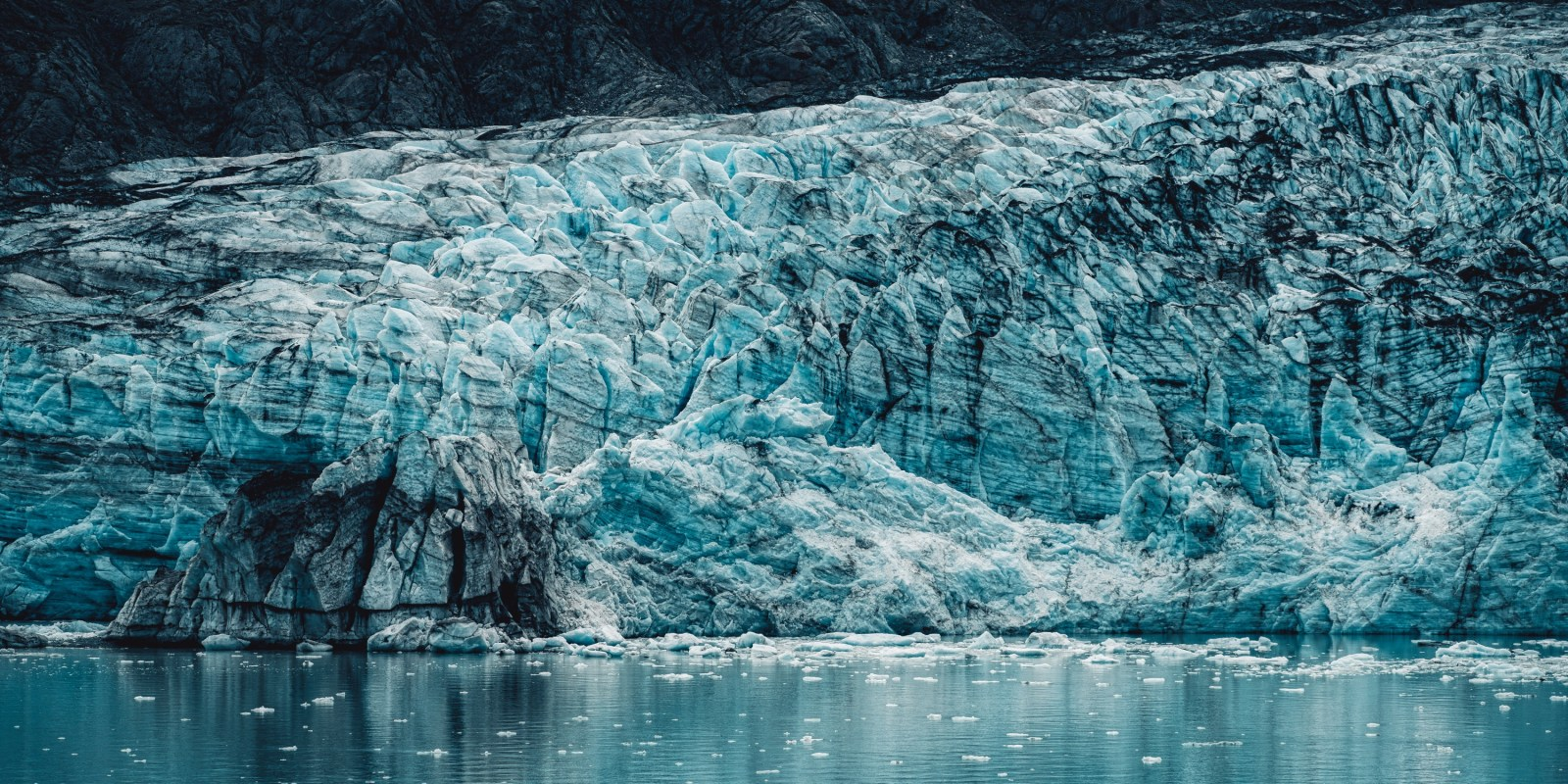 Glacier in Glacier Bay Alaska. Shot with the Sony A7rII and the Canon 70-200mm f2.8 II.