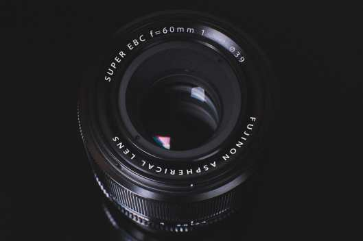 Fujinon 60mm f2.4 Front Element