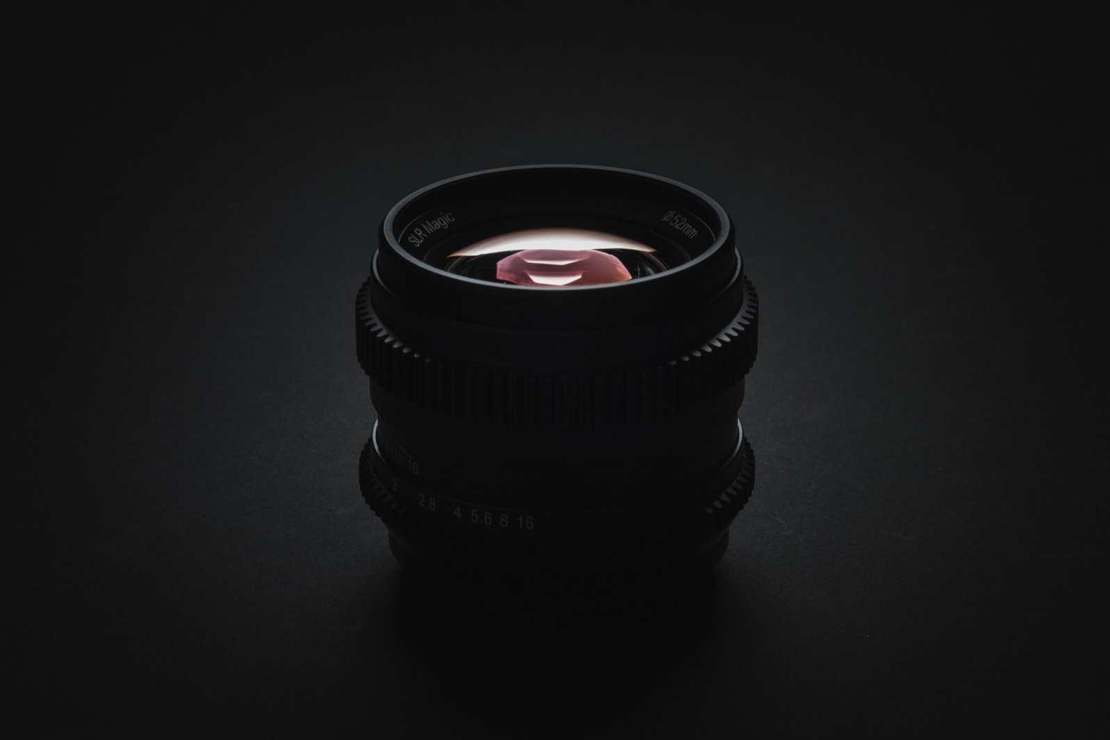 SLR Magic 50mm f1.1 Product Shot