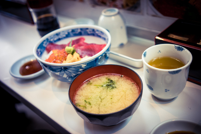 Tsukiji Fish Market Sushi Bowl