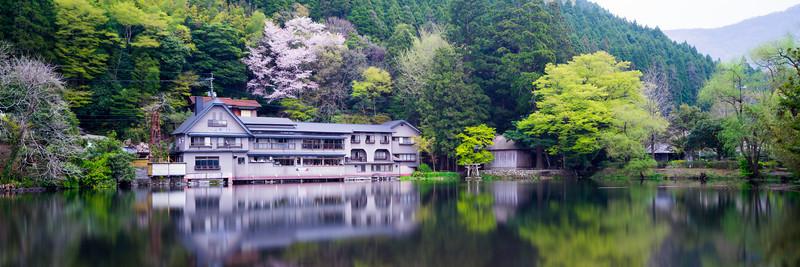 Kinrinko Lake in Yufuin Japa