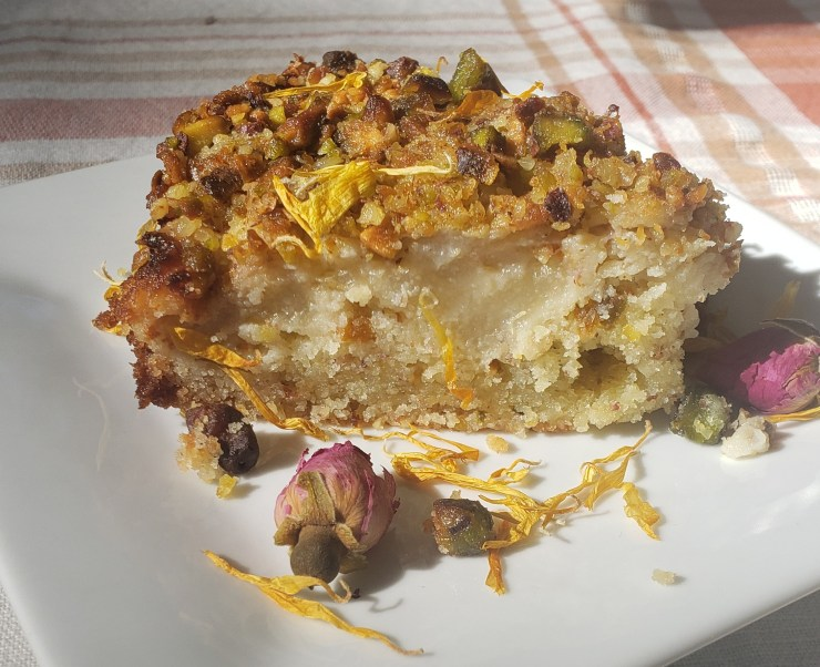 Pear Halwa Cake