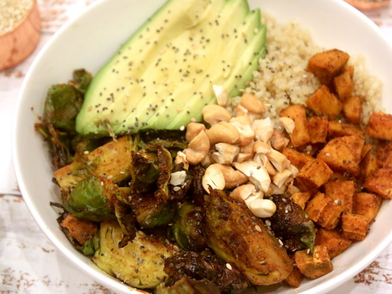 Brussels Sprouts Grain Bowl