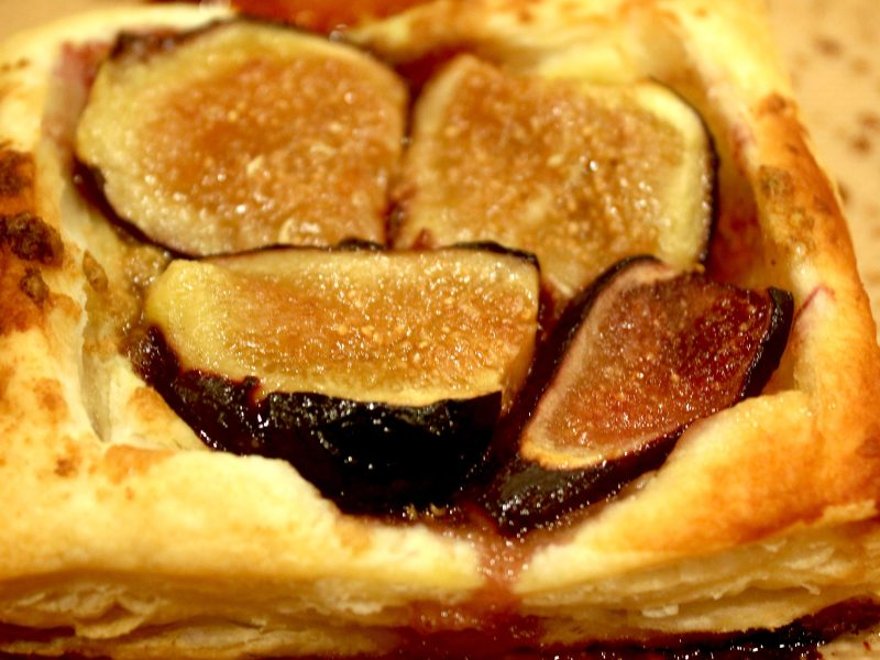 Fig and Pistachio Tartlets