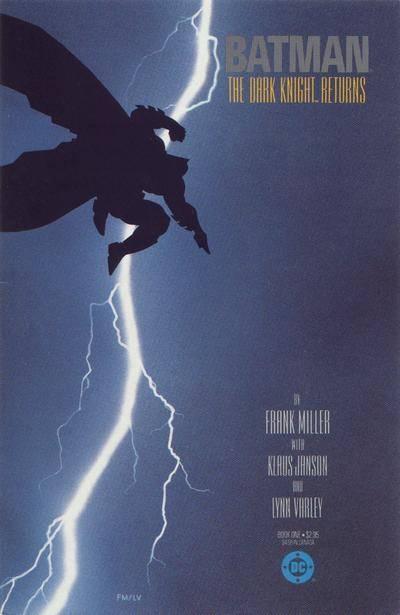 Dark Knight Returns #1 Frank Miller