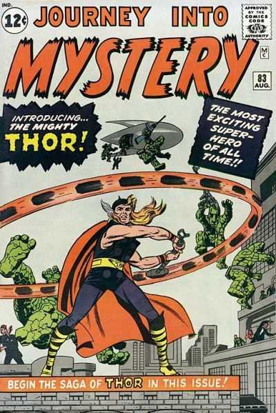journey-into-mystery 83 Jack Kirby