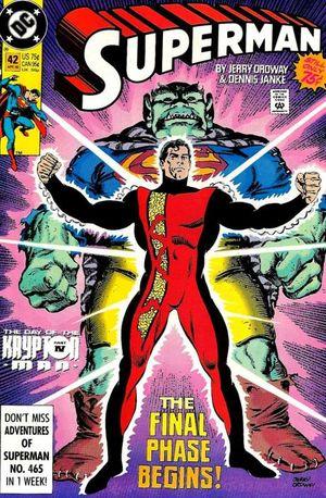 Superman_v.2_42 Jerry Ordway