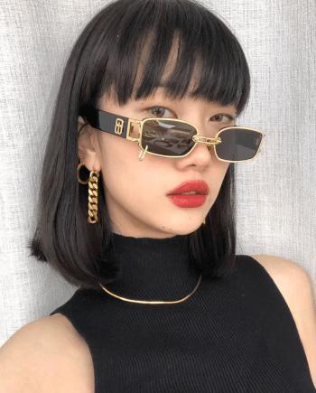Солнцезащитные очки в ретро-стиле