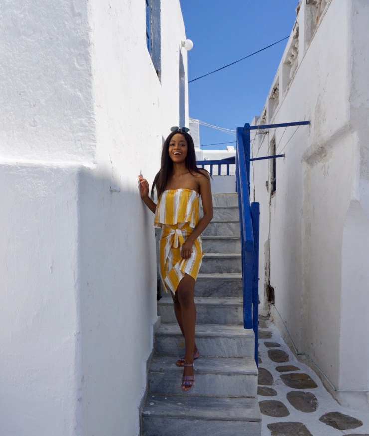Travel Blogger, Mykonos, Greece