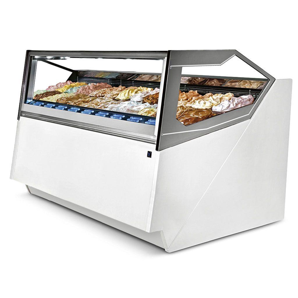 Vitrina IFI Cubika con helados