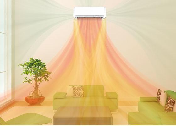 Инверторен климатик Fujitsu General ,модел: ASHG09KXCA Nocria DUAL BLASTER-0