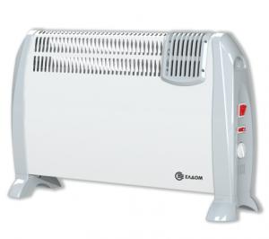 Подов конвектор Елдом,модел:CFV2000-бял с вентилатор-0