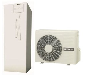 Термопомпа HITACHI с вграден водосъдържател 260 L YUTAKI S 2V COMBI (230V) 4.3 kW-0