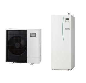 Термопомпа Mitsubishi Electric Ecodan,модел: EHST20C-VM2C+PAC-DP01-E/PUHZ-SW100YАA Power inverter с вграден водосъдържател (11 kW- 400V)-0