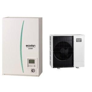 Термопомпа Mitsubishi Electric Ecodan,модел: ERSC-MEC/PUHZ-SHW80VAA Zubadan (8 kW)-0