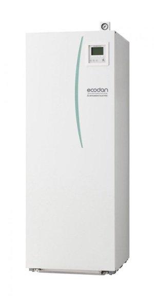 Термопомпа Mitsubishi Electric Ecodan,модел: EHST20C-VM2C/PUHZ-SHW140YHA Zubadan с вграден водосъдържател само за отопление (14 kW - 400V)-0