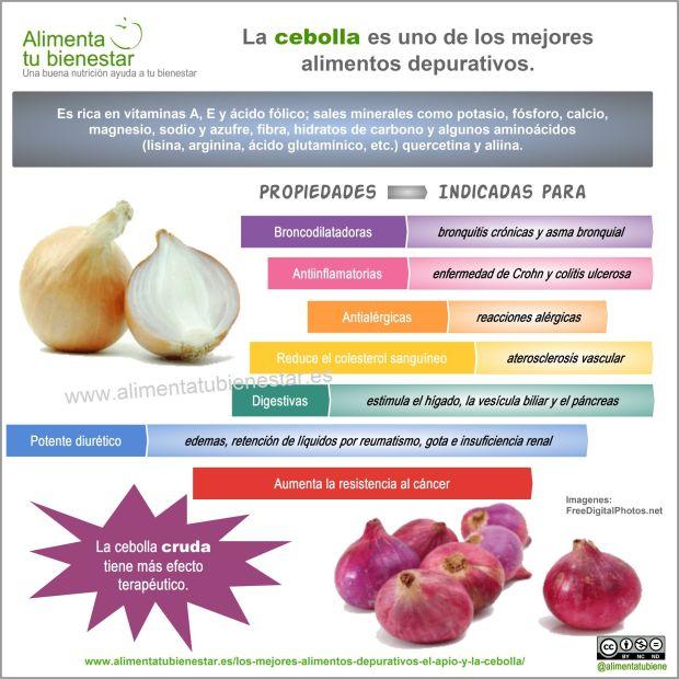 Alimentos depurativos: la cebolla
