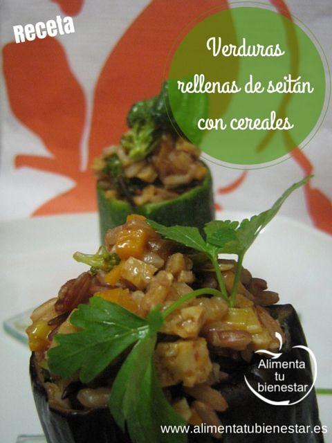 Receta de verduras rellenas