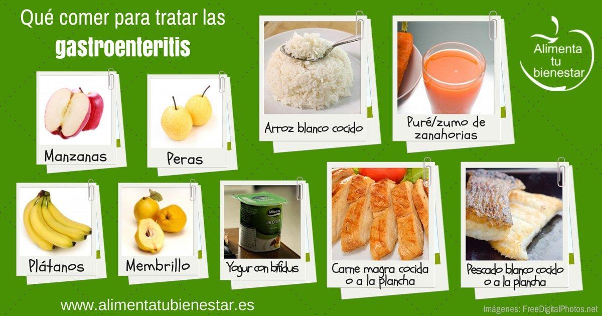 que alimentos comer con gastroenteritis