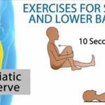 6 de los mejores ejercicios para la ciática y el dolor de espalda baja