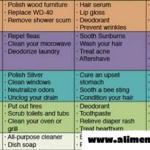 70 usos de los productos diarios que ahorrarán dinero y te mantendrán sano