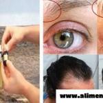 Este ingrediente hará tu pelo crecer de una manera sorprendente, así como también las cejas y pestañas!