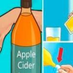 Bebe vinagre de sidra de manzana antes de acostarte porque tratará estas condiciones de salud