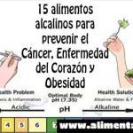 Los 15 alimentos alcalinos que pueden prevenir el cáncer, las enfermedades del corazón y la obesidad