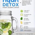 Agua detox: receta y beneficios de esta poderosa bebida