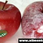 Vierte agua caliente en tus manzanas y mira si esta cera común causante de cáncer aparece