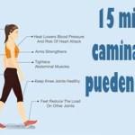 Cómo 15 minutos de caminar por día puede cambiar su cuerpo