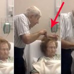 En la enfermedad y en la salud: Lo que hace este anciano cuidadosamente a su esposa enferma ha conmovido al mundo