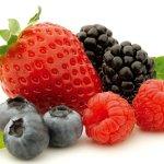 Batido adelgazante de frutos rojos, desayuno