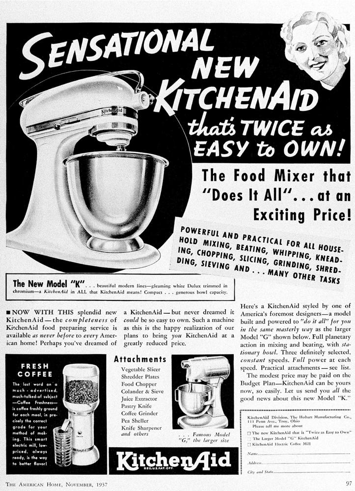 KitchenAid un amore lungo 100 anni