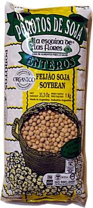 Porotos de Soja 'La Esq. De Las Flores' 1kg