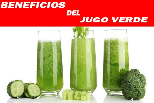 beneficios del jugo verde