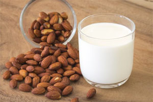 leche de almendra para corredor